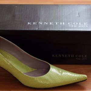 Genuine Leather Kenneth Cole Snake Print